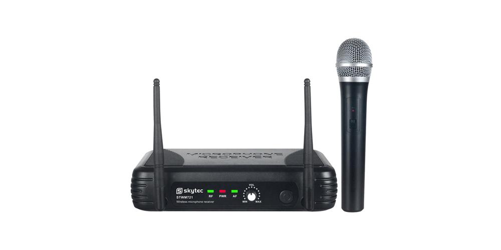 SKYTEC STWM721 Microfono Inalambrico de Mano UHF 179175