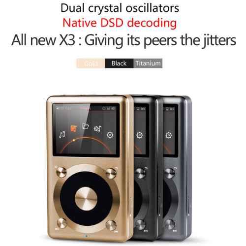 FIIO X3 II Portable HD Player Negro
