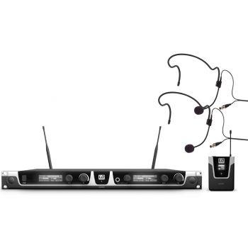LD SYTEMS U508 BPH 2 Sistema inalámbrico con 2 petacas y 2 micrófonos de diadema