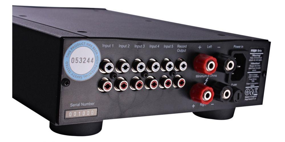 REGA Brio-R Amplificador Estereo