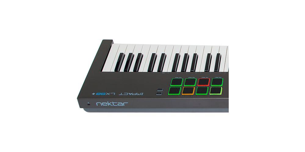 lx88 teclado con pads