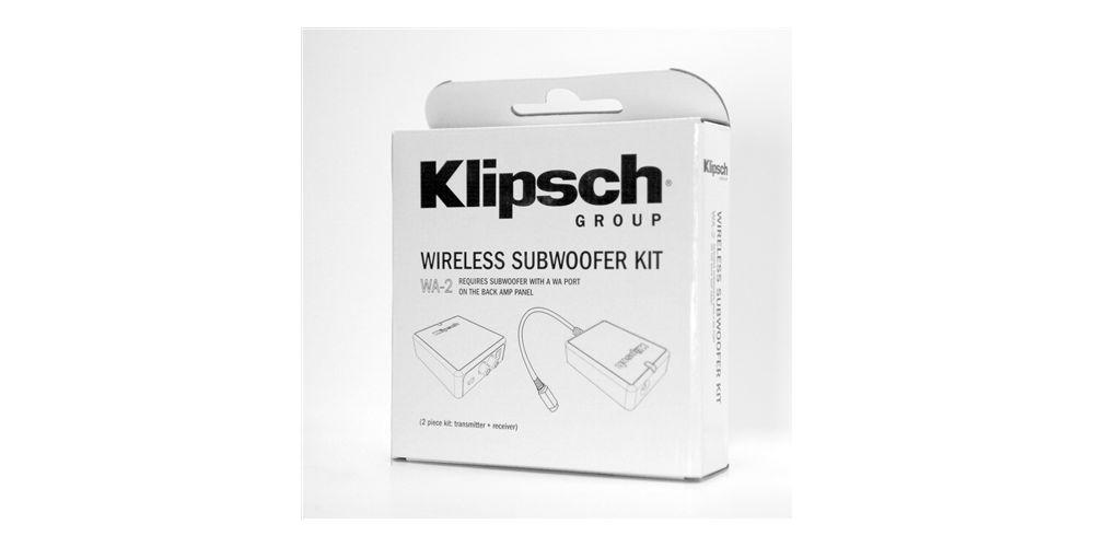 klipsch WA 2 adaptador wifi embalaje