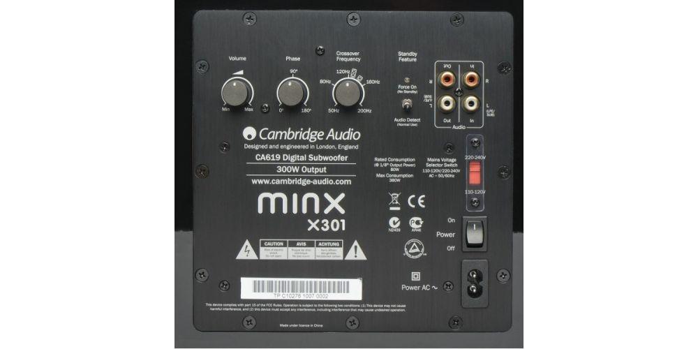 cambridge audio minx x301 subwoofer