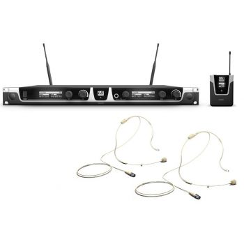 LD SYTEMS U506 BPHH2 Microfonos inalámbrico doble de Diadema