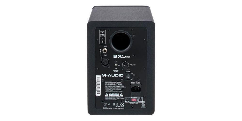 m audio bx5 d3 conexiones