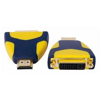 DAP Audio Adaptador DVI Hembra a HDMI Macho RF:FVA11