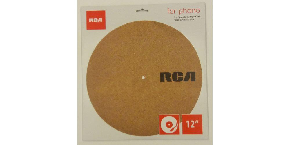 rca Cork Turntable Mat 12 disco antiestaico
