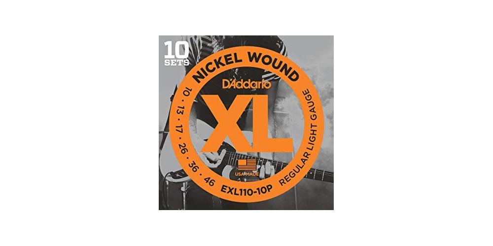 daddario exl110 10p