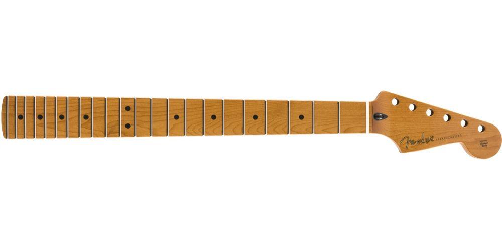 Fender Roasted Maple Stratocaster Neck, 22 Jumbo Frets, 1