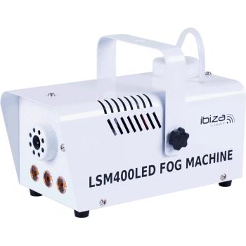 Ibiza Light LSM-400LED-WH Mini Maquina de Humo 400W Con 3 Led
