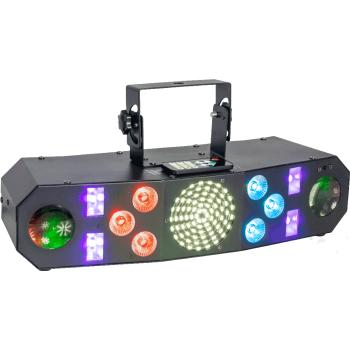 Ibiza Light COMBI FX3 Ffecto de Iluminación 4-EN-1