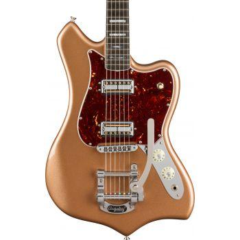 Fender Parallel Universe Volume II Maverick Dorado EB Firemist Gold