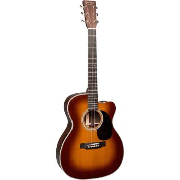 Martin OMC-28E-AMB Guitarra Electroacústica con Estuche