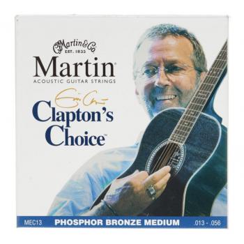 Martin MEC13 Cuerdas Guitarra Acústica Eric Clapton Phosphor/Bz Medium 13-56
