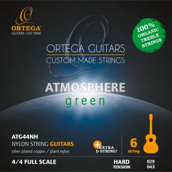 Ortega ATG4 Juego de Cuerdas para Guitarra Clásica