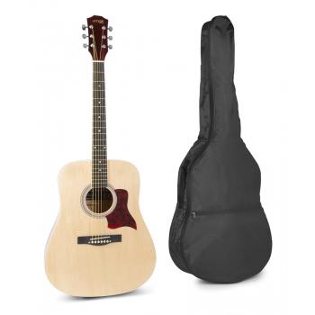 max Solo Jam Guitarra Acústica Natural 173215