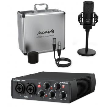 PreSonus AudioBox USB 96 + Audibax AT2020 Set