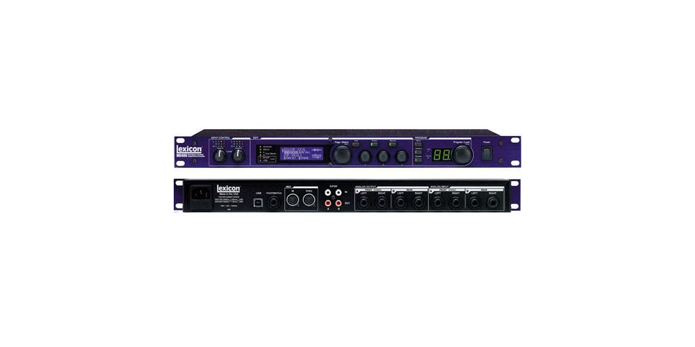 LEXICON MX-400XL Audio Interface Tarjeta Sonido MX400L