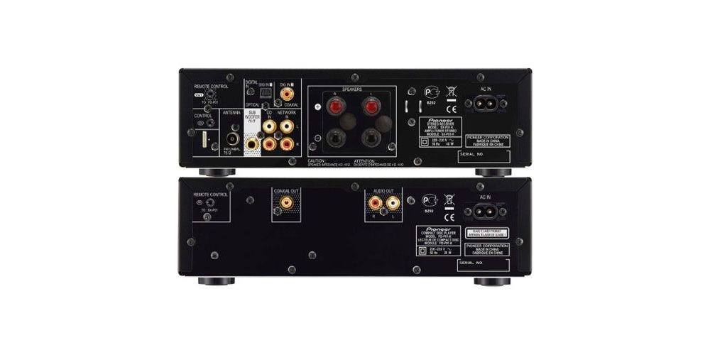 PIONEER P1-K Micro Cadena por Componentes Negro