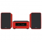 ONKYO CS-255 R Micro Cadena Stereo Dock Iphone, Rojo