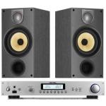 ROTEL RA11 SILVER Amplificador Plata  +  B&W 685 Negro