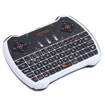 Xmob XControl PRO Teclado/ Mando QWERTY con TouchPad para Smart Tv , PC, PlayStation, Xbox