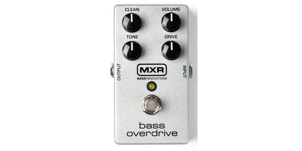 mxr m89 bass overdrive front