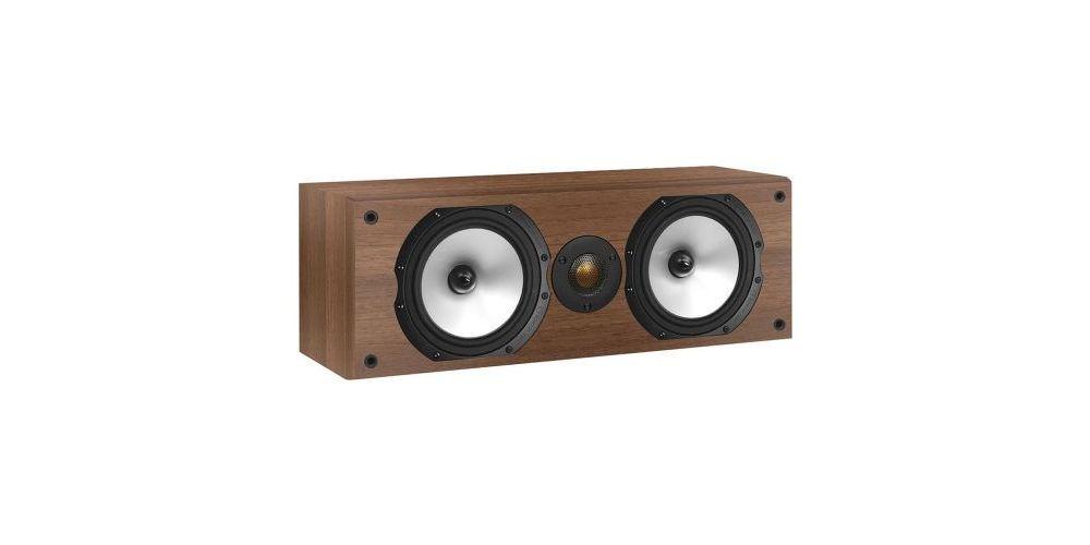 monitor audio mr center walnut