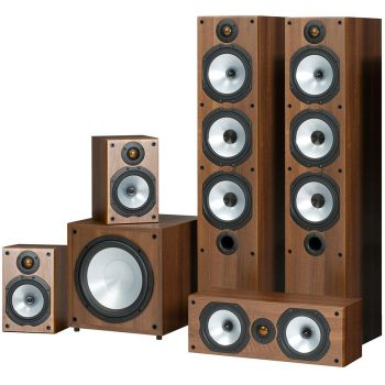 Monitor Audio POWER 6 WALNUT Kit , MR6 + MR1 + MRCENTER + MRW10,