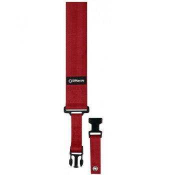 DiMarzio DD2200RD Nylon Clip Lock Rojo