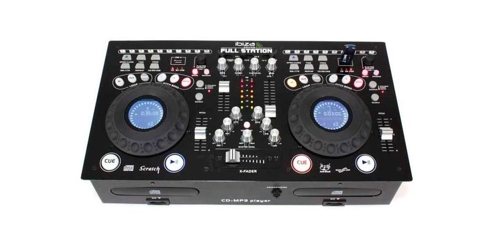 Ibiza Sound Full-Station Controlador Dj