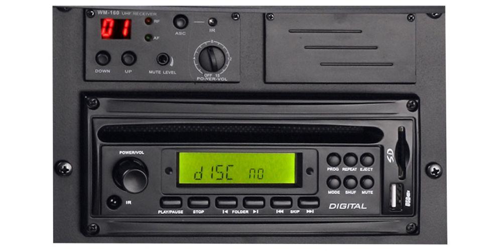 LD SYSTEMS Roadman 102 B5 Altavoz de PA portátil con Micrófono de Mano