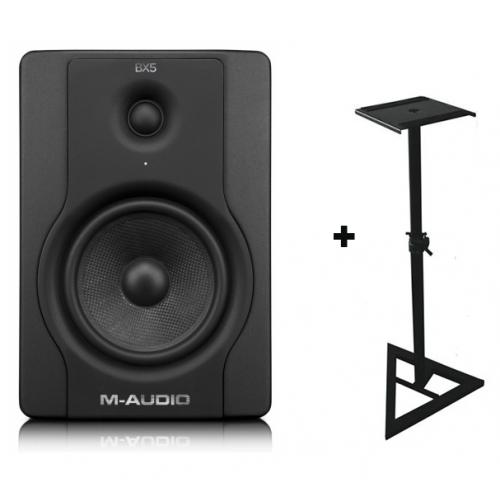 M-AUDIO BX5 D2 Individual + Soporte Regulable