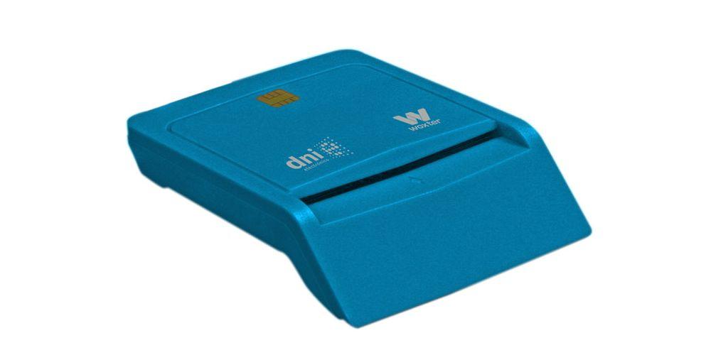 woxter lector dni electronico azul