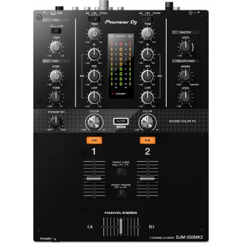 Pioneer Dj DJM-250MK2 Mezclador  2 canales