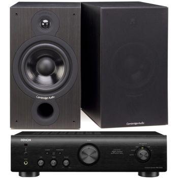 DENON PMA-520-BK+Cambridge SX-60 BK