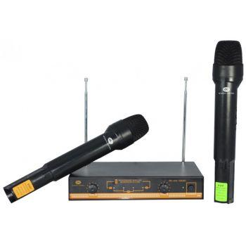 ACOUSTIC CONTROL MU-200 HAND Microfono inalambrico doble de Mano