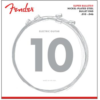 Fender Cuerdas Super Bullet Acabado Niquel 3250R