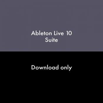 ABLETON Live 10 Suite Actualización desde Live Lite Descarga
