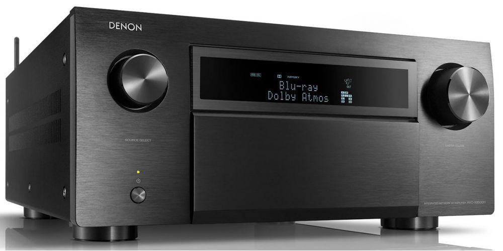 denon avc 8500h black amplificador audio video mando