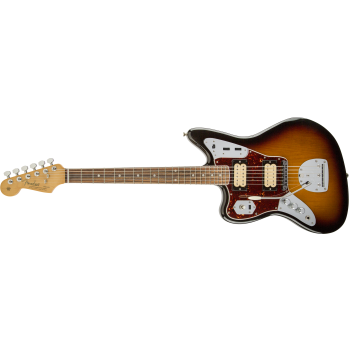 Fender Kurt Cobain Jaguar Left-Handed Rosewood Fingerboard 3-Color Sunburst