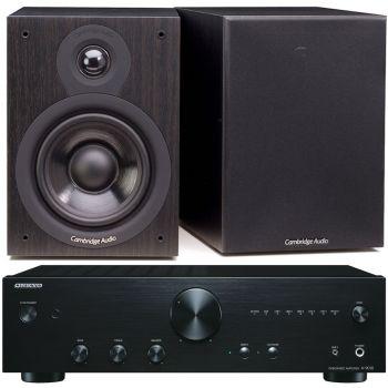 ONKYO A-9010 B+Cambridge Audio SX50 BK Conjunto Audio