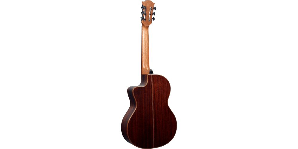 Lag OC118CE Guitarra acustica Occitania rear
