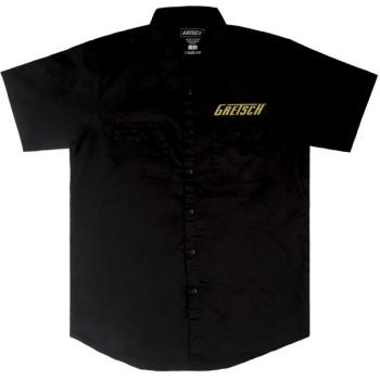 Gretsch Pro Series Workshirt Black Talla L