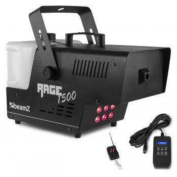 Beamz Rage 1500 LED Maquina de Humo profesional 1500W DMX con iluminación 160715