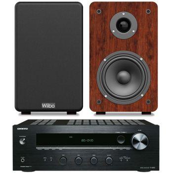 ONKYO TX-8020B + Wiibo Karino 200 Conjunto Audio