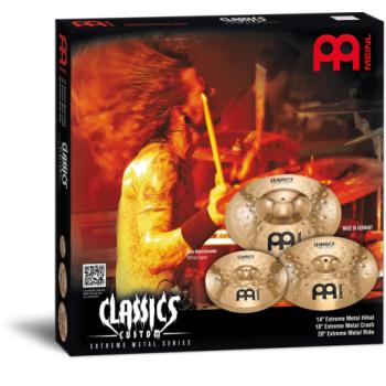Meinl CC-EM480 Pack de Platos Cymbal