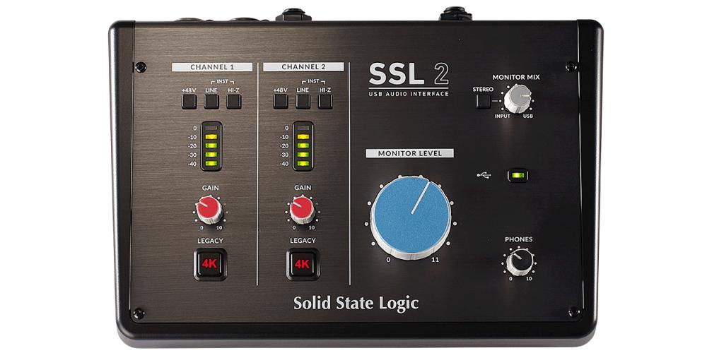 SSL 2 INTERFACE AUDIO