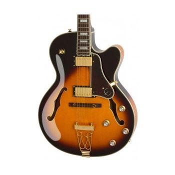 Epiphone Joe Pass Emperor-II Pro Vintage Sunburst Guitarra Electrica