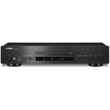 Yamaha CDS-303 Black Compact disc CD HiFi. Negro
